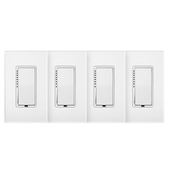 Insteon SwitchLinc Dimmer, White (4 Pack)