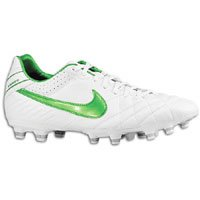 Nike Tiempo Mystic IV FG - White/Court Green/Met