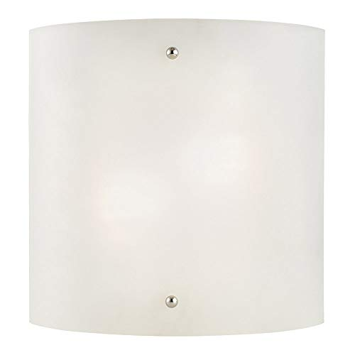 Design House 512905 Weston 2 Light Wall Light, Satin Nickel