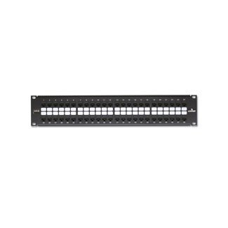Leviton 69270-U48  Extreme 6+ QuickPort Patch Panel 2RU, Cat 6, 48-Port with Extreme Cat 6+ Connectors (Renewed)