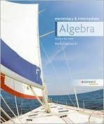 Elementary and Intermediate Algebra 4th Ed. [National American University] [2012] by Mark Dugopolski (2012-05-03)