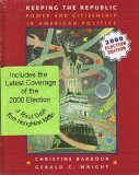 Keeping The Republic Election Edition, Upgrade Cd-rom, Election Supplement And Cue Book