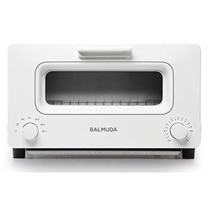 BALMUDA Steam toaster oven ''BALMUDA The Toaster'' K01E-WS (White)【Japan Domestic genuine products】 by BALMUDA