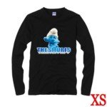 The Smurfs Style Cotton Long-Sleeve T-Shirt-Size XS