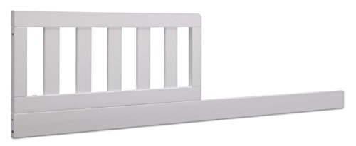 Toddler Conversion Kit - Delta Children Daybed/Toddler Guardrail Kit, Bianca White