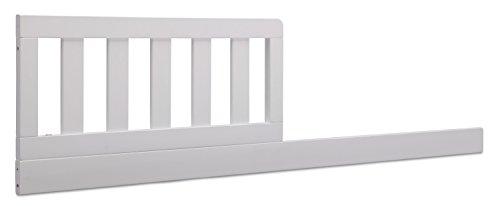 Delta Children Daybed/Toddler Guardrail Kit, Bianca White