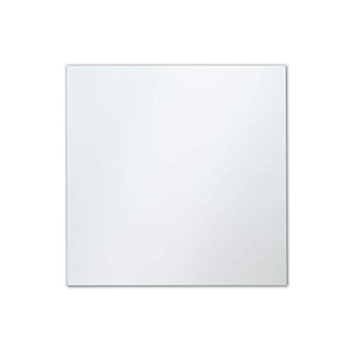 The Better Bevel Frameless Square Wall Mirror with Polished Edge | 30-inch -