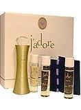 Christian Dior J'adore Refills Parfum Spray and Refills Set: 4 X 0.25 Oz (7.5 Ml)