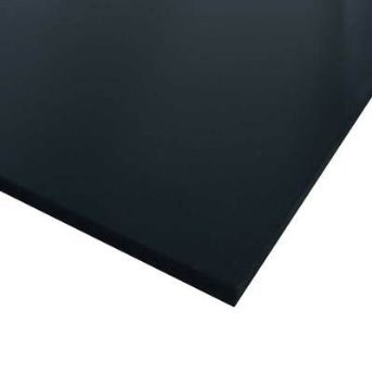 Crescent #6008 Ultra Black Smooth Board 11x14 25 Sheets