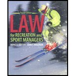 Law for Recreation & Sport Managers (4th, 07) by J, COTTEN DOYICE - JOHN, WOLOHAN [Paperback (2010)]