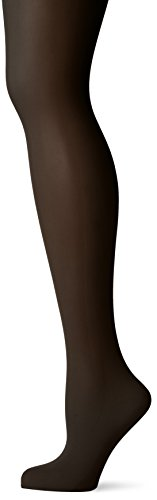 DKNY Women's Comfort Luxe Control Top Opaque Tight, Black, Tall - Luxe Sheer Control Top