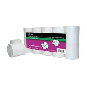 """NCR 997375 NCR Point-of-Sale Thermal Paper Rolls, 3 1/8"""" x 230', 10 Rolls"""