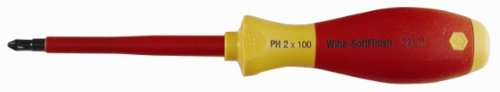WIHA TOOLS 32102 Insulated Phillips Screwdriver,#2