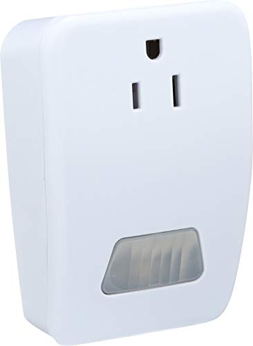 Westek MLC4BC Plug-in Motion Activated Control, 1-(Pack), White