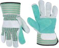Custom Leathercraft 284261 Double Leather Glove- Pack of 5