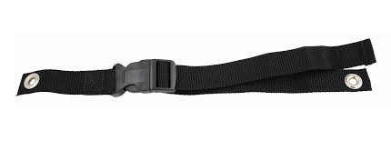 Rehabilitation Advantage Ankle Strap with Buckle, 1 Inch, 0.8 Ounce (Buckle Grommets)
