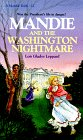 Front cover for the book Mandie and the Washington Nightmare by Lois Gladys Leppard