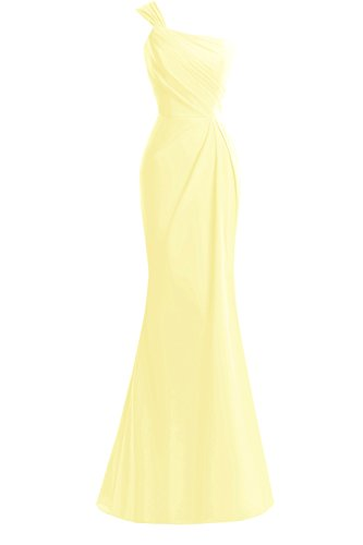 Bride Bridal Women's The Mermaid Mother Shoulder Dora Dresses Daffodil Formal One Of HaZq8fx8wg