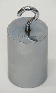 SEOH Weight Metric Cylindrical Hooked Iron NP 500 g by SEOH