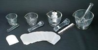 2121200 Mortar & Pestle Glass Kit sold indivdually sold as Individually Pt# 11165 by Health Care Logistics