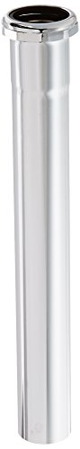 LDR 505 6265 Kitchen 1-1/2-Inch x 12-Inch Slip Extension Tube, Chrome Plated (Chrome Extension Tube)