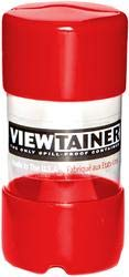Viewtainer Bulk Buy (6-Pack) Storage Container 2 inch x 4 inch Red CC24-1 by Viewtainer