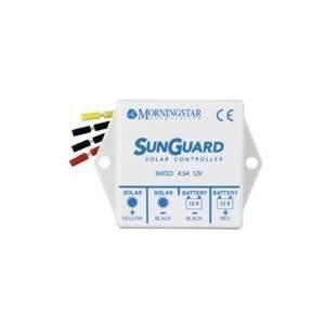 Morningstar SG-4 SunGuard 4.5 Amp PWM Charge Controller 12 Volt