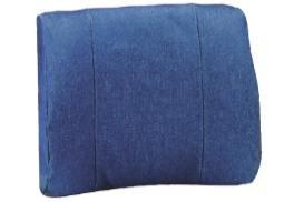FLA Orthopedics 13-701PK Lumbar Sacral Support Pillow Denim, 4 Pack (Pillow Lumbar Support Sacral)