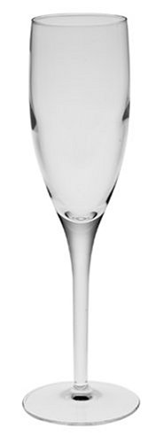 Luigi Bormioli Parma Champagne Flute Glass, Set of 6