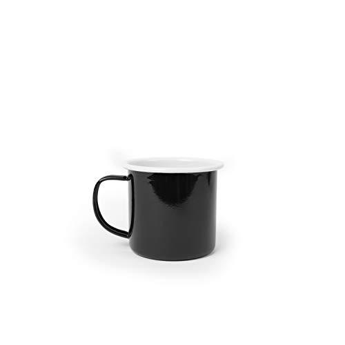 Enamelware Mug, 12 ounce, Black Pacifica ()
