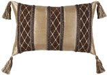 Jennifer Taylor Broderick Collection Pillow, 13-Inch by 20-Inch
