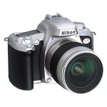 Nikon N75 35MM Autofocus SLR Camera w/ 28-80MM Lens ( Silver / Black - Detection Motion Nikon