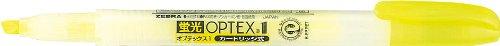 ゼブラ 蛍光ペン オプテックス1 B-WKS4-Y 黄 10本 B004NRAR9U  黄