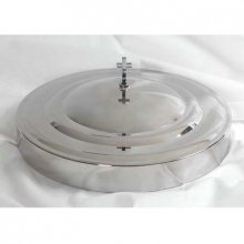 Communion Tray Cover In Stainless Steel   Remembranceware By Broadman Holman