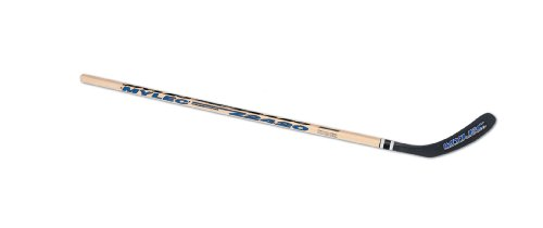 (Mylec Z2420 Stick with Nylon Blade (Wood/Black, Right, 53-Inch))