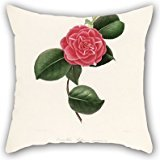 Flower Pillow Shams 18 X 18 Inches / 45 By 45 Cm Best Choice For Relatives,festival,gf,teens Boys,couples,shop With Double Sides