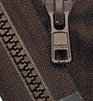 coat zipper brown 35 - 6