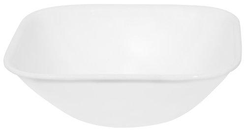 Corelle Square 22-Ounce Soup/Cereal Bowl, Pure White