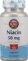 Niacine 50mg - 200 - Tablet