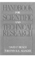 Handbook For Scientific and Technical Research