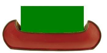 Canoe Business Card Holder, Red