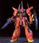 Bandai Hobby #15 AMX-107 BAWOO, Bandai HGUC Action Figure