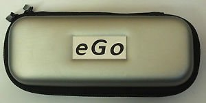 EGO E CIG CASE HOLDER - Soft Lined 10 colours to choose ALL types of EGO -T CE4 (silver) by Ego