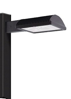 RAB Lighting ALED3T78 Type III with 8-Inch Pole Mounting Arm Cool Led, Bronze by RAB Lighting