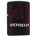 Zippo 29731 Stone Sour Black Matte Lighter