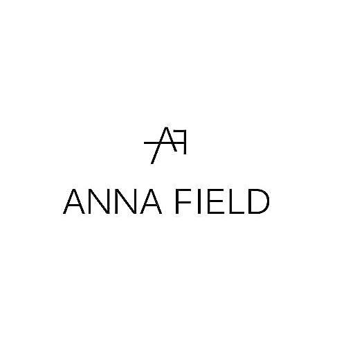 97869849 Anna Field Sandalias Sin Tacón en Negro o Azul - Sandalias de Mujer con  Correa y Flores ...