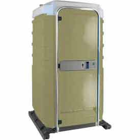 PolyJohn FS3-1006, Fleet Portable Restroom, Tan