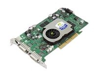 - HP DL489A Nvidia Quadro FX 1100 128MB DDR II SDRAM AGP 8x Graphics Card
