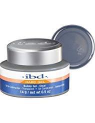 IBD 604000 Builder Gel, Clear, 0.5 Ounce