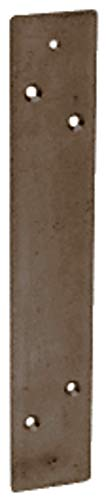 CRL Bronze Duranodic Finish Mounting Plate for the DL915 Pull Handle